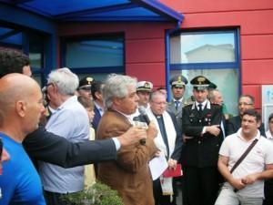L'inaugurazione dell'acquario comunale nel 2010