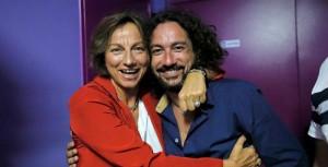 Gianna Nannini e Francesco Loccisano