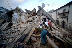 I danni ad Amatrice (foto Blasting news, it.blastingnews.com)