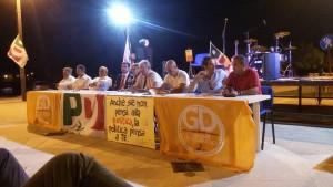La tavola rotonda di ieri sera con tutti i sindaci del comprensorio