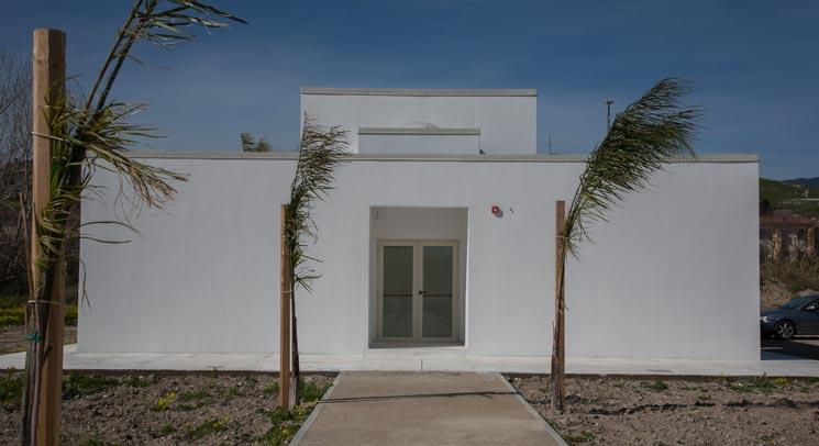 Una Casa A Patio A Badolato Architettura Come Distillato Di Un Idea