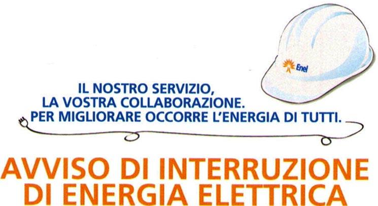 avviso enel energia elettrica