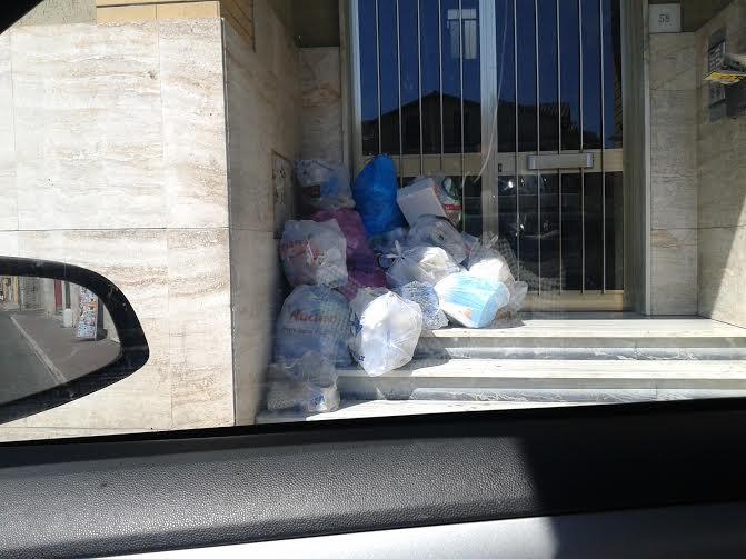 ripulire spazzatura