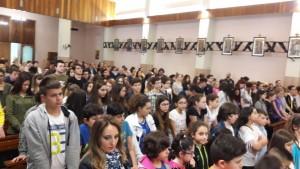 Folla in chiesa Fma